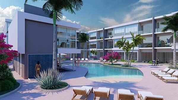 Exteriores Comunes Apartamentos Aruba 600px